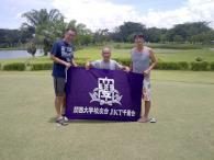 JKT(ジャカルタ)千里会<br />ゴルフコンペを開催