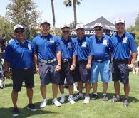 ロサンゼルス千里会<br />南加大学同窓会対抗ゴルフ大会にユニホーム新調し精鋭6人が参加