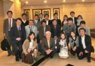 上海関大会<br>11月度定例会開催 社会連携部と交歓