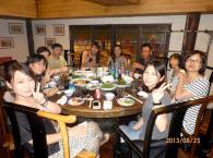 上海関大会<br />国際インターンシップで懇親会を開催