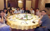 上海関大会<br />関西大学と復旦大学のゼミ生も参加して定例会を開催