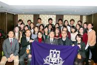関大台湾OB会<br />李会長が玄奘大学で講演